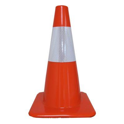 4 Plastic Traffic Cones