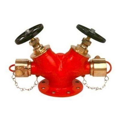 double-headed-gun-metal-hydrant-valve